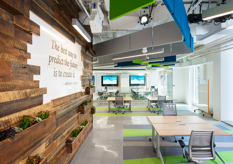 Booz Allen Hamilton Innovation Center Zumtobel