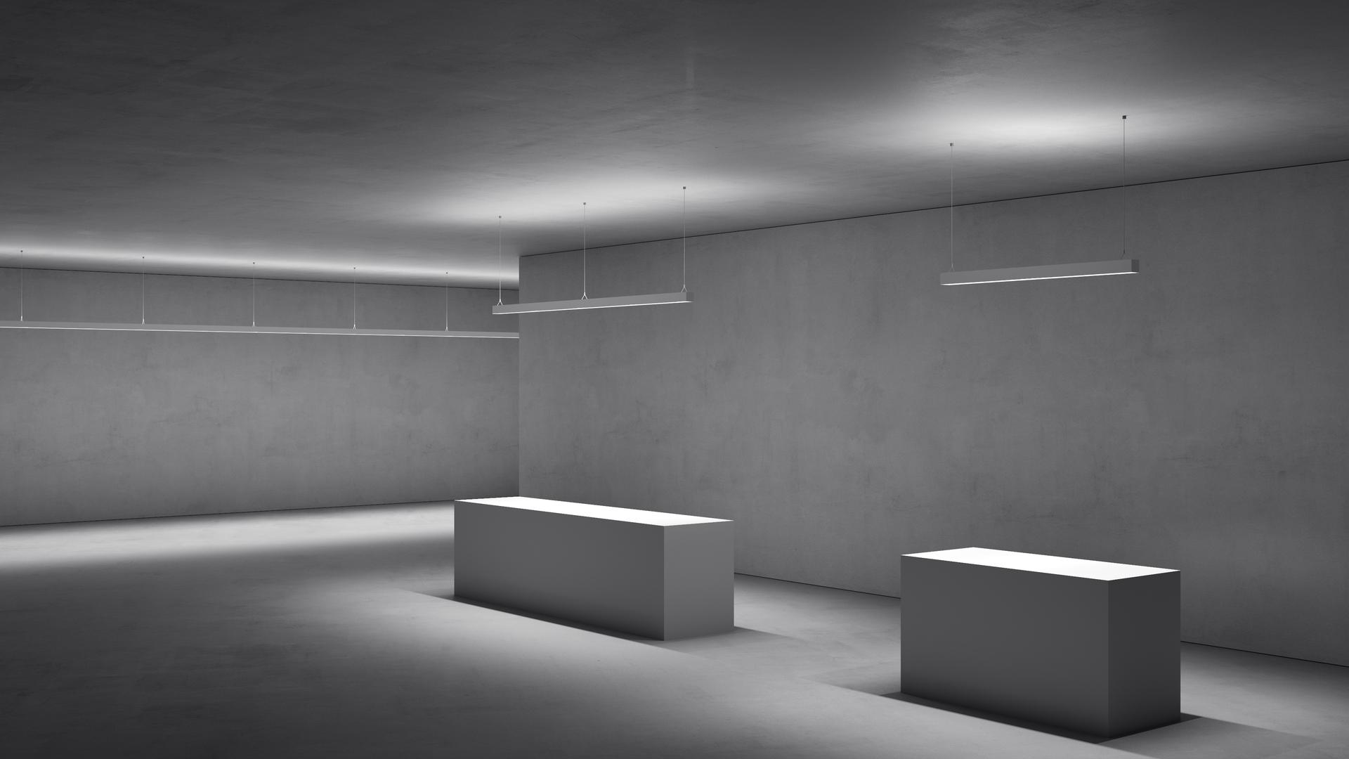 Lincor Indirect Direct Led Pendant Luminaire Zumtobel